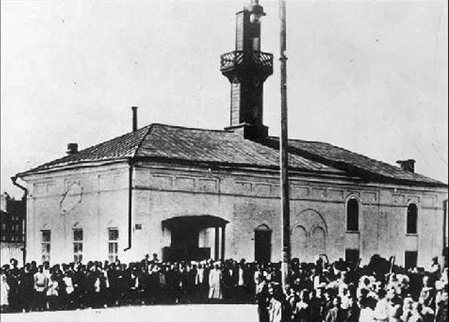 Саратовская мечеть, снесённая коммунистами